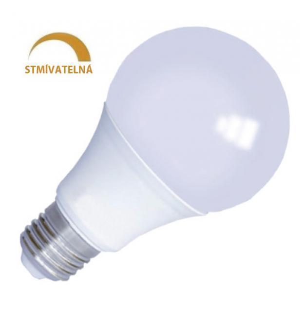 Levně LED21 LED žárovka 10W 24xSMD2835 E27 800lm CCD STMÍVATELNÁ Studená bílá